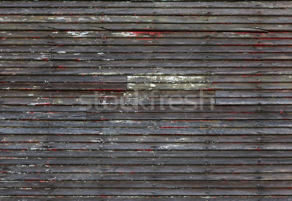 Worn Wood wall Stock photo © bobkeenan