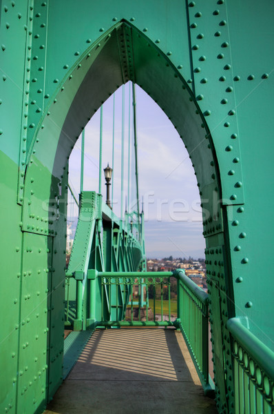 Green Arches Stock photo © bobkeenan