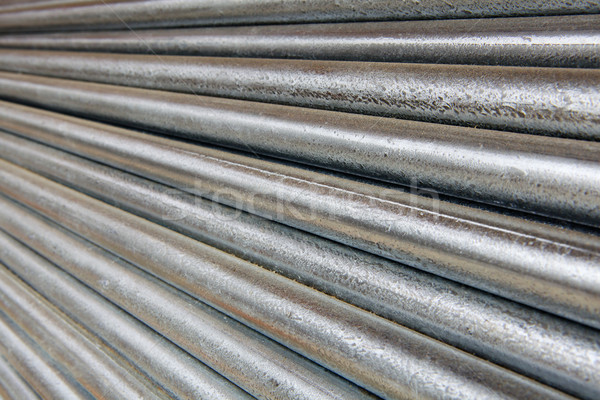 Diminishing Galvanized Pipe Stock photo © bobkeenan