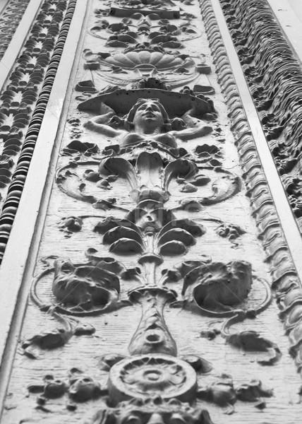 ornate  building facade front Stock photo © bobkeenan