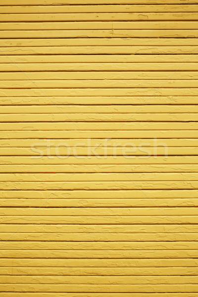 желтый древесины стены погода вертикальный горизонтальный Сток-фото © bobkeenan