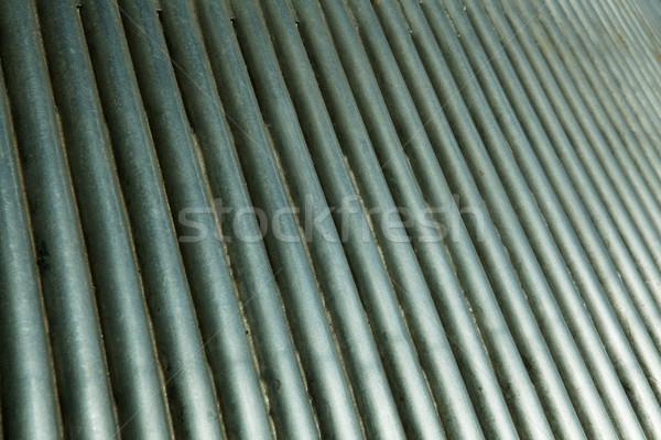 Tubes vue fusée buse acier Photo stock © bobkeenan
