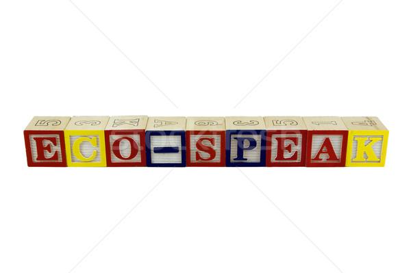 Stock fotó: építőkockák · játék · ábécé · kockák · helyesírás