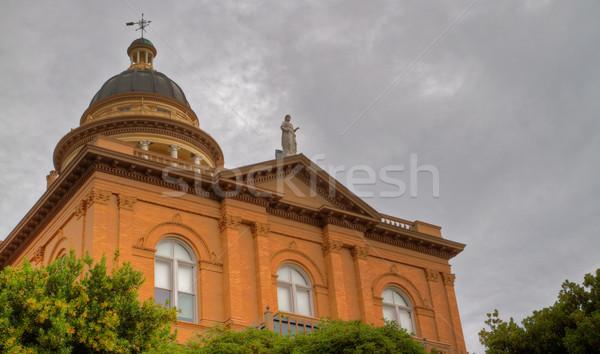 Courthouse oblique Stock photo © bobkeenan