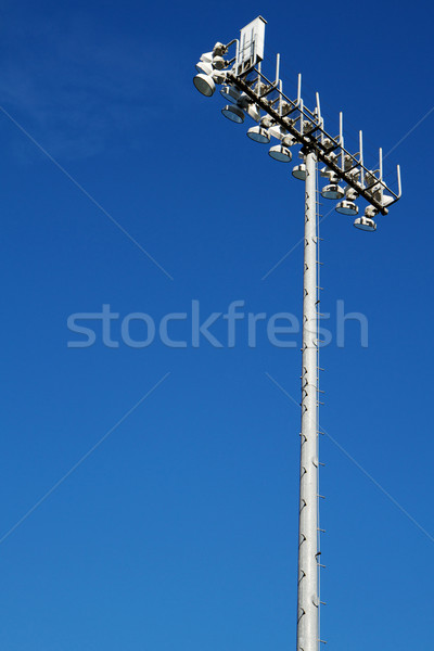 Sporting Field lights Stock photo © bobkeenan