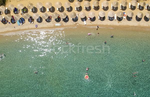 Beach at Porto Elea, Sithonia, Chalkidiki, Greece Stock photo © boggy