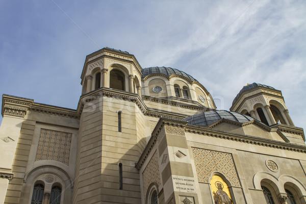 Santo chiesa view cielo finestra architettura Foto d'archivio © boggy