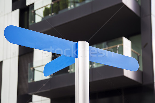 Guidepost Stock photo © boggy