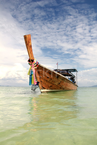 Long tailed boat in Thailand Stock photo © boggy