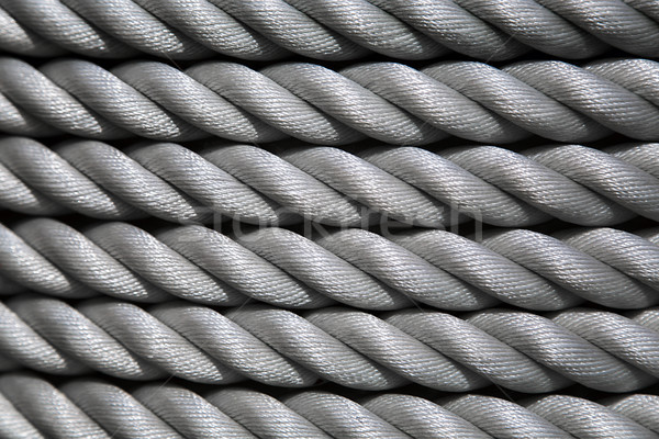 Shipping rope coil texture background Stock photo © boggy