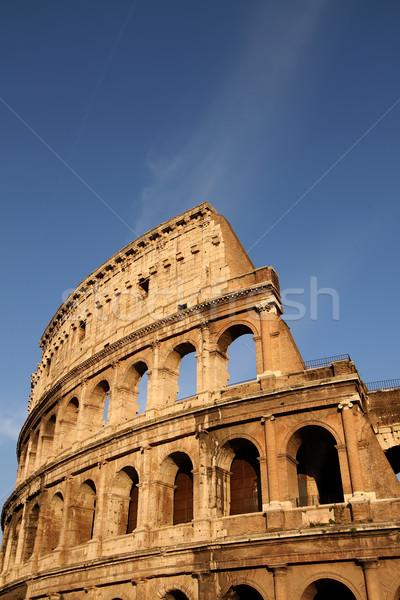 Колизей Рим Италия архитектура римской Сток-фото © boggy