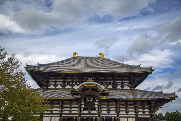 Todai ji temple at Nara, Japan Stock photo © boggy
