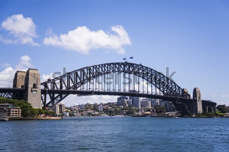 Sydney Harbour Bridge Stock photo © boggy