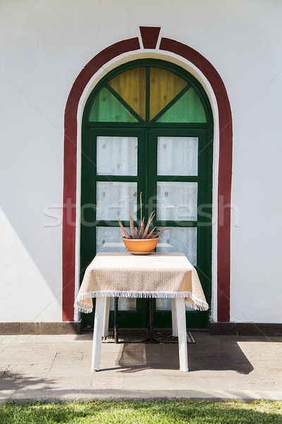 Window with table Stock photo © boggy