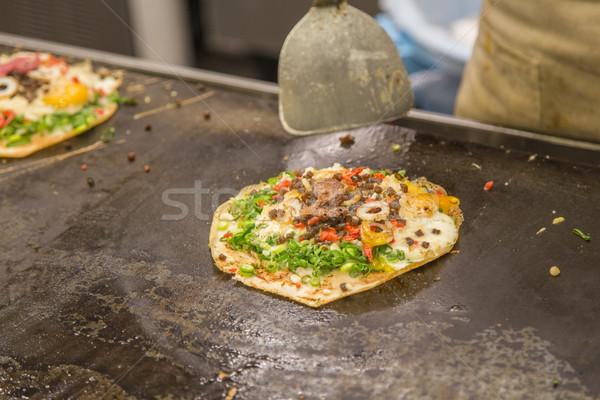 Okonomiyaki in Japan Stock photo © boggy