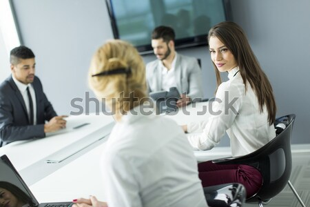 Teamworking Stock photo © boggy