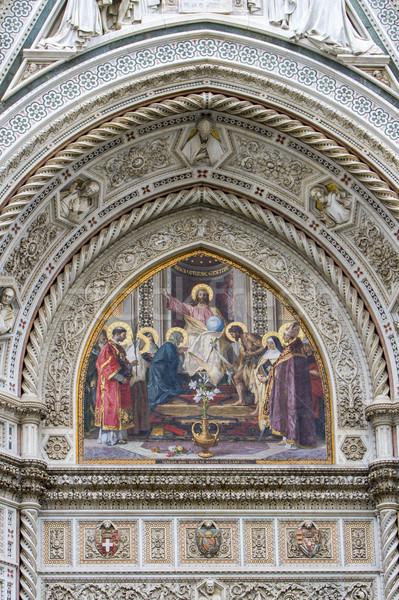 Florence catedral Itália pormenor arquitetura Foto stock © boggy