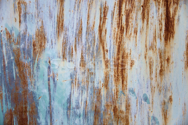 Rusty metal texture background Stock photo © boggy