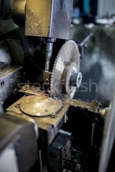 Circular saw Stock photo © boggy