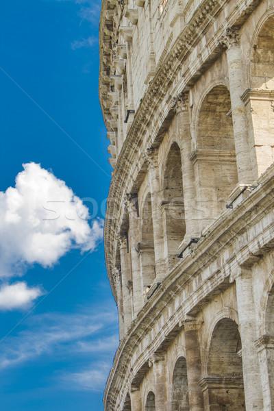 подробность Колизей тесные мнение путешествия архитектура Сток-фото © boggy