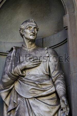 Foto stock: Estátua · florence · Itália · ver · europa · cultura