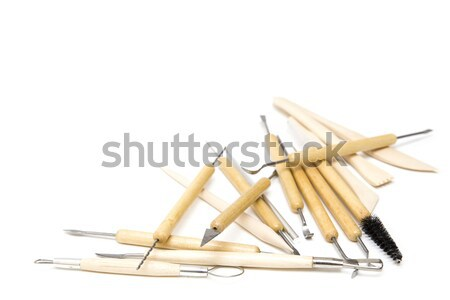 Pottery tools Stock photo © boggy