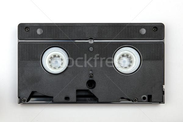Klasszikus izolált fehér film retro információ Stock fotó © boggy
