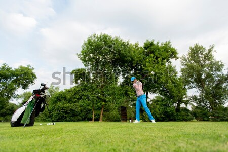 Golf player Stock photo © boggy