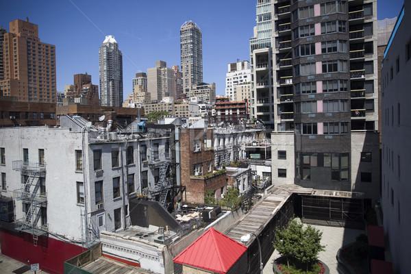 New York City ver arranha-céu EUA céu cidade Foto stock © boggy