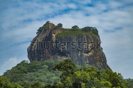 Sigiriya Rock Fortress at Matale, Sri Lanka Stock photo © boggy