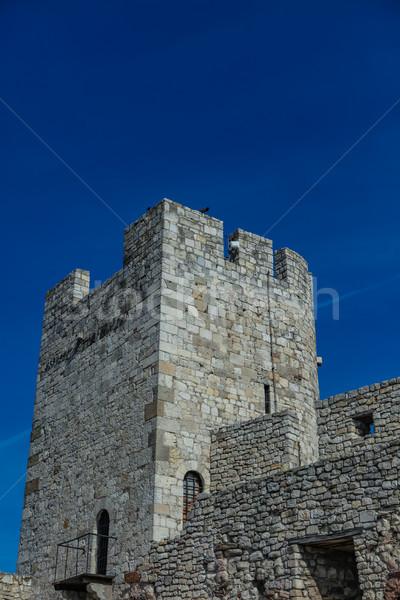 Erőd részlet épület építészet Európa torony Stock fotó © boggy