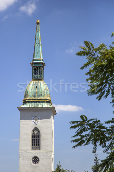 Catedrală Bratislava Slovacia biserică urban istorie Imagine de stoc © boggy