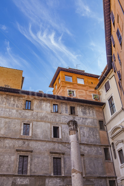 Colonna della antico teatro in Rome Stock photo © boggy