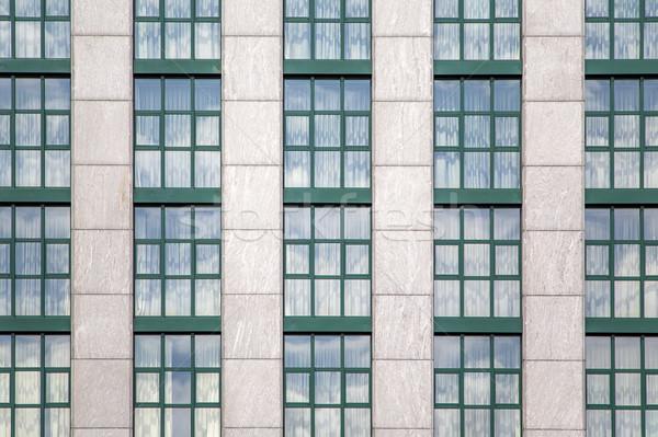 Modern bina ofis şehir inşaat pencere model Stok fotoğraf © boggy