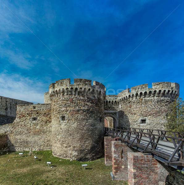 Kalemegdan fortress in Belgrade, Serbia Stock photo © boggy