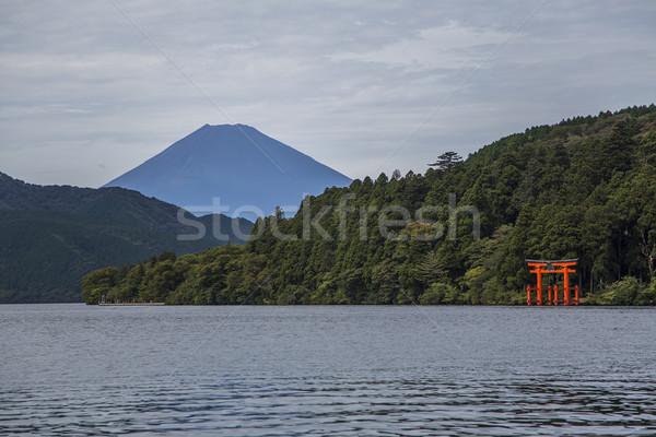 Santuario lago acqua Asia storia religione Foto d'archivio © boggy