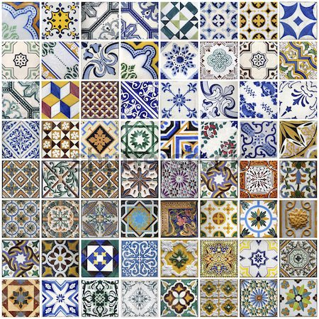Stock photo: Traditional tiles from Porto, Portugal