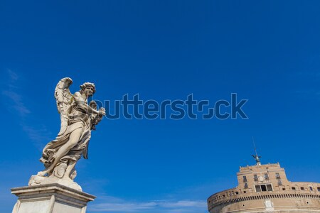 San' Angelo bridge Stock photo © boggy