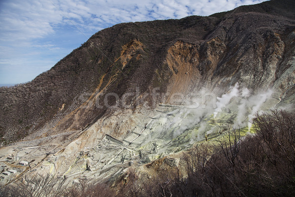 Hot springs in Owakudani, Japan Stock photo © boggy