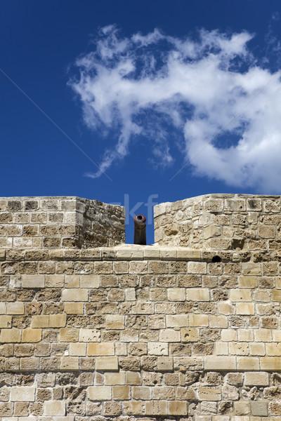 замок Кипр старые каменной стеной каменные архитектура Сток-фото © boggy