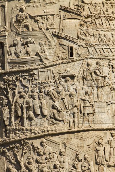 Colonna Roma dettaglio architettonico Italia pietra architettura Foto d'archivio © boggy