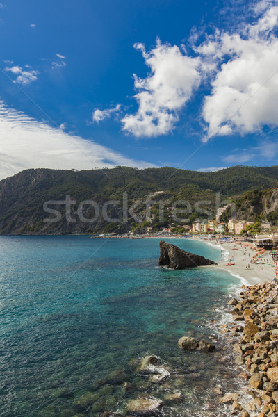 Monterosso al mare at Cinque Terre, Italy Stock photo © boggy