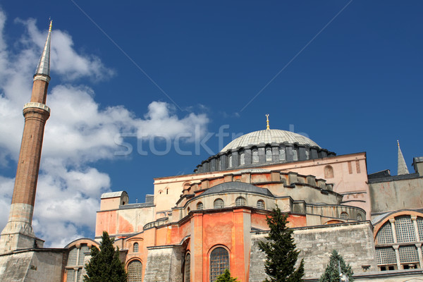 Hagia Sophia in Istanbul Stock photo © boggy
