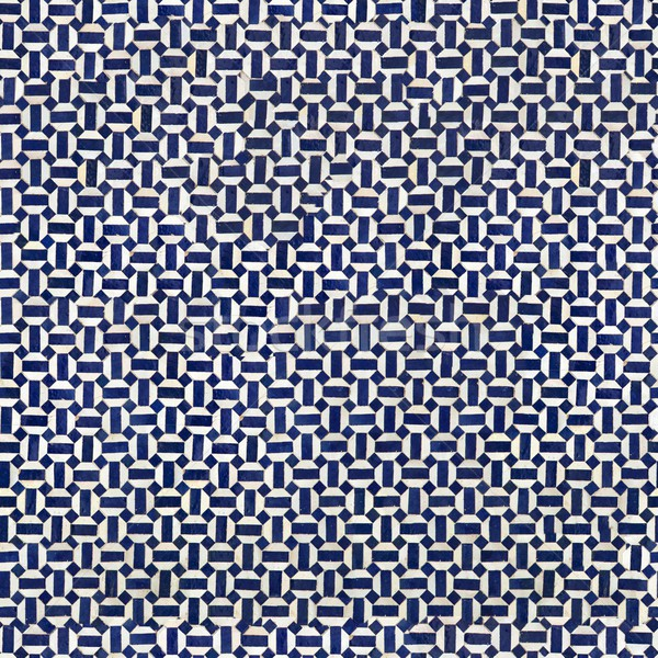 Seamless pattern of traditional tiles Stock photo © boggy