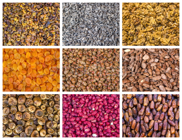 Dry food on the market Stock photo © boggy