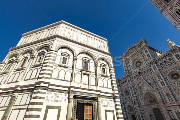 Battistero di San Giovanni in Florence Stock photo © boggy