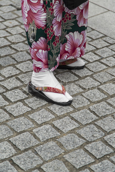 Sandals 'Geta' in Kyoto Stock photo © boggy