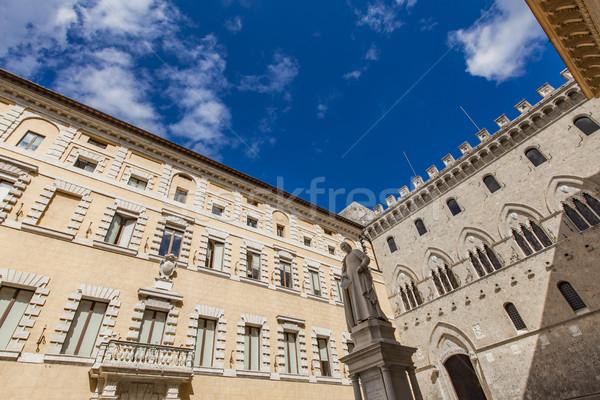 Piazza Salimbeni in Siena Stock photo © boggy