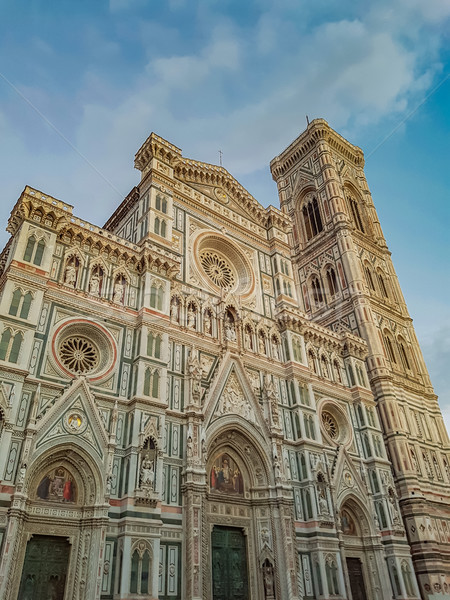 Basilique FLORENCE Italie ville mur Photo stock © boggy