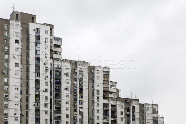 Urban concrete building Stock photo © boggy